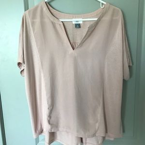 Old Navy blush colored top